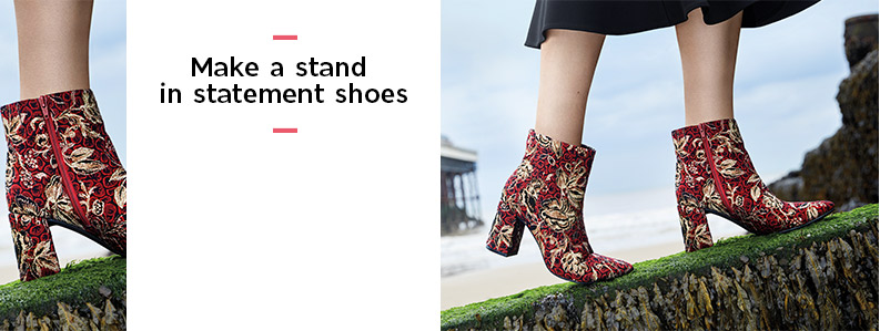 Make a stand in statement shoes