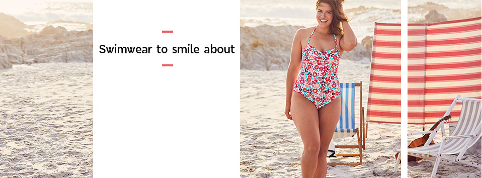 Swimwear to smile about